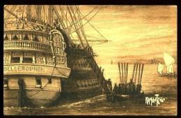 En Rade De L' ILE D'AIX - Embarquement De Napoléon - (D'après Une Estampe Du Temps) - Altri Comuni
