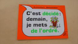 CARTE AUTO COLLANT....METTRE DE L'ORDRE. - Stickers