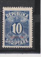 Yvert Taxe 26 * Neuf Avec Charnière - Albanien