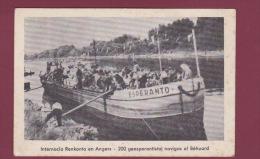 ESPERANTO - 190614 - Internacia Renkonto En ANGERS - 200 Geesperantistoj Navigas Al Béhuard - Esperanto