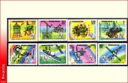 Rwanda 0811/18**  Telecommunications  MNH