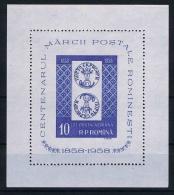 Romenia: Airmail 1959 Block 40 MNH/** - Blokken & Velletjes