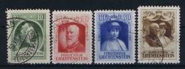 Liechtenstein: 1929 Mi Nr 90 - 93 Used - Liechtenstein