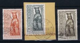 Liechtenstein: 1954 Mi Nr 329-331 Used - Gebruikt
