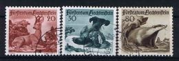 Liechtenstein: 1950  Mi Nr 285 - 287  Used - Gebruikt