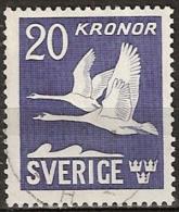 Sweden, Schweden - (Yvert 7) Dentelé 4 Côtes.