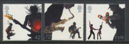 Great Britain 2006 Michel # 2447,2449,2450. Musicians,  MNH (**) - 1952-.... (Elizabeth II)
