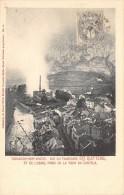 CPA 09 TARASCON SUR ARIEGE VUE FAUBOURG STE QUITTERIE ET DE L'USINE (dos Non Divisé) - Francia