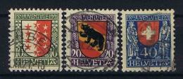 Switserland Schweiz: 1921 Mi 172-174 Used - Pro Juventute