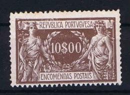 Portugal: Paket Marken: 1920 Mi Nr 17 MH/*, Has A Very Light Fold Left Bottom Corner - Postpaketten