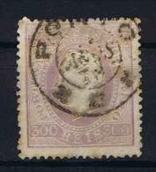 Portugal: 1870 Mi Nr 45  Used Perfo 13,50, Spots, Fold Left Top Corner - 1862-1884 : D.Luiz I