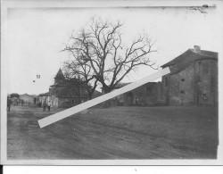 Région De Cernay Occupation Allemande Entrée De Village 1 Photo Tirée Sur Papier Carte Photo 14-18 1914-1918  Ww1 WwI Wk - War, Military