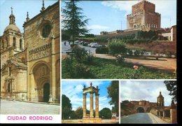 """CP ESPAGNE : CUIDAD RODRIGO """" Vues Diverses """" - Salamanca"""