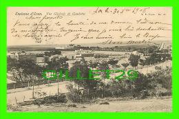 ORAN, ALGÉRIE - VUE GÉNÉRALE DE GAMBETTA - CIRCULÉE EN 1905 - DOS NON DIVISÉ - - Oran