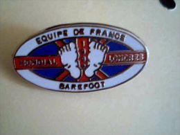 Barefoot, Sport Nautique, équipe De France,mondial Londres - Pin