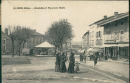 69 COURS LA VILLE /  Grande Rue Et La Place De La Mairie / - Cours-la-Ville