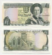 Jersey 1 Pound 2000 Pick 26 UNC - Jersey