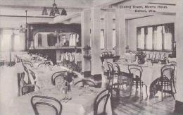 Wisconsin Delton Dining Room Morris Hotel Albertype