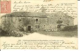 CPA - PEYREBEILHE, Près PRADELLE, L'auberge Sanglante- 10312 - France