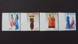 Vietnam Viet Nam MNH Imperf Withdrawn Stamps 2012 : Vietnamese Women Costume (Ms1015) - Vietnam