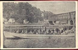 CP - Anseremme Sur Meuse - Pub. Reclame Bateau De Plaisance Le Colébi - Excursions - Unclassified
