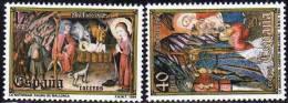 España 1984 Edifil 2776/7 Sellos ** Nöel Christmas Natividad Completa Museo Diocesano Palma Mallorca Y Adoracion Reyes - 1931-Hoy: 2ª República - ... Juan Carlos I