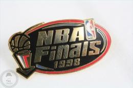 NBA Basketball Finals 1998 - Advertising Pin Badge #PLS - Basketball
