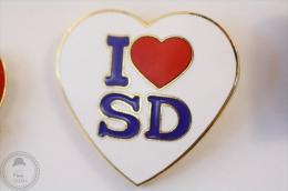 I Love San Diego - Pin Badge #PLS - Ciudades