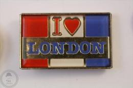 I Love London - Pin Badge #PLS - Ciudades