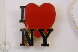 I Love New York - Pin Badge #PLS - Ciudades