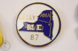 Rally Roamers 87 AMA - Pin Badge #PLS - Rallye
