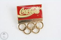 Coca Cola Olympic Games Sponsor Trademark - Pin Badge #PLS - Coca-Cola