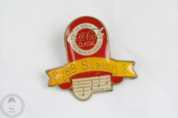 88 Street - The Official Coca Cola Classic Soft Drink Of Summer - Music Pin Badge #PLS - Coca-Cola