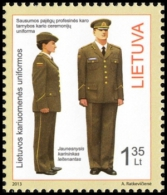 LITHUANIA LITUANIE 2013 LITHUANIAN ARMED FORCES
