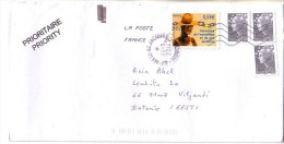 GOOD FRANCE Postal Cover To ESTONIA 2014 - Good Stamped: Human Rights ; Marianne - France