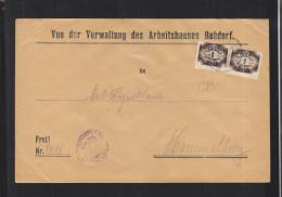 Dt. Reich Bayern Dienstbrief Rebdorf - Briefe U. Dokumente