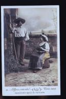 FERME LES ACCORDABLES   1900 CARTE PHOTO - Agriculture