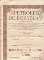 Pétroles De Boryslaw - 1920 - Antwerpen - Petróleo