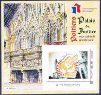 FFAP N° 8 De 2014 - Bloc Dentelé Autoadhésif - La Passion Du Timbre - Palais De Justice à Poitiers - FFAP