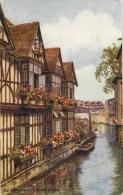 SALMON ART CARD - CARRUTHERS - 4218 - OLD CANTERBURY & RIVER STOUR - Canterbury
