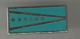 34785-Pin's.Laboratoire.m Edicament.Orelox Est Un Antibiotique Signé Roussel UCLAF.jacabi. - Medical