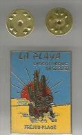 34803-Pin's Discothèque La Paya.Frejus Plage.mexicain.cactus.. - Ciudades