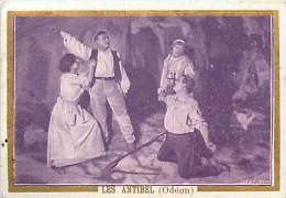 Chromos Réf. A 14-191 Crêmes L. Revault  Spectacle Les Antibel Odéon - Süsswaren