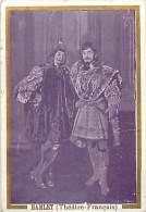 Chromos Réf. A 14-197 Crêmes L. Revault  Spectacle Hamlet Théâtre Français - Süsswaren