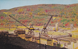 Beautiful Allegheny Dam And Reservoir, WARREN, Pennsylvania, 1940-1960s - United States