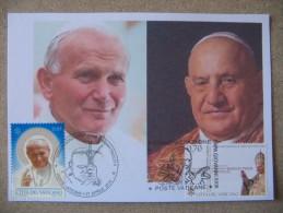 VATICANO 2014 CANONIZZAZIONE PAPA GIOVANNI PAOLO II - GIOVANNI XXIII - Papi