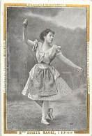 Chromos Réf. A 14-196 Spectacle J. Raunay Mme Rosita Mauri L'Etoile - Süsswaren