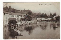 Cpa  Isle  Vue Sur La Vienne - Otros Municipios