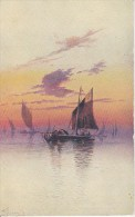 PC Rennay (?) - Boats On The Sea - Faulkner & Co London - Series 1026 (5820) - Künstlerkarten