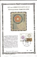 België  Y/T 1797  Herdenkingskaart   Zijde     American Revolution 200 Jaar    62/400 - Cartes Souvenir